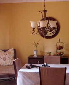 A Dashing Dining Room Makeover - A Before & After from Brandi Abdul-Malik