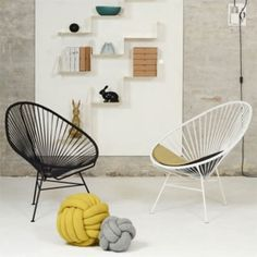 Order the Acapulco Chair made by the manufacturer OK Design, suitable for inside and outside, available in the home design shop. Ok Design, Design Shop, Deco Design, Balcony Chairs, Acapulco Chair, Comfortable Living Rooms, Buy Chair, Scandinavian Living, Occasional Chairs