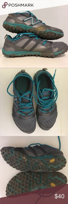 New balance 7.5 minimus trail shoes New balance 7.5 minimus trail shoes. Medium ware. Very good condition! New Balance Shoes Sneakers