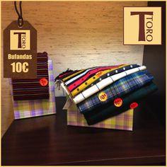 ¡Envuélvete con nuestras bufandas! Los accesorios rebosan actitud esta temporada. #tororegalos #bufandas #complementos #tendencia