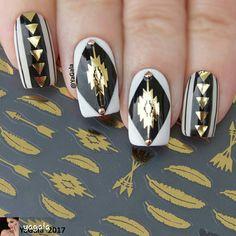 By #YAGALA #nailsofinstagram #nailartdesigns #prettynails #nails #nailart #nailartist #nailartpics