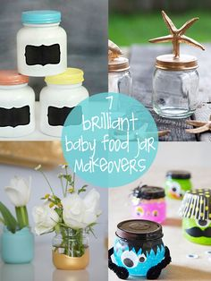 7 brilliant baby food jar makeovers | creative gift ideas & news at catching fireflies