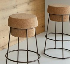 Stools -cork.....new col. Summer 2015