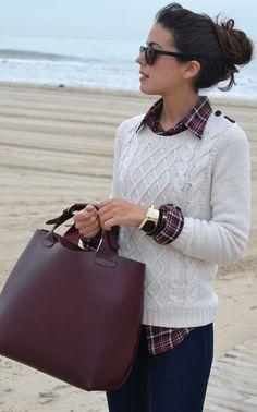 Preppy Fashion Trend 2014: Unknown Fashion Blogger