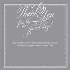 Thank You {Special Day} designed by Kellie Medivitz on pingg.com