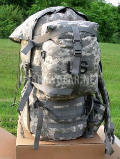 New Made in USA Digital ACU Assault Backpack | US Army Gear ...