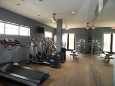 Great work out room. More photos at www.Uptown101.com! #3636MckinneyApartments #UptownDallasApartments