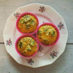#eggmuffin #eieren #avocado #bieslook #peper/zout #kruidennaarsmaak #kwark