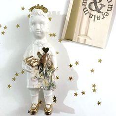 Kerst editie Ventje 4 #limitededition #kerstpopje #lammersenlammers #dutchdesign #special #ceramicdoll