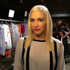Gwen Stefani  L.A.M.B. SPRING 2015 PRESENTATION AT NYFW