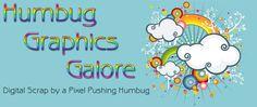 Humbug Graphics Galore suggested element sizes