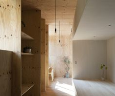 Japanese studiomA-style architectshas completed a metal-clad house with a smaller wooden house inside