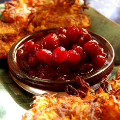 Cranberries with Red Wine. Hands down the best way to Thanksgiving-up your seasonal fruit! From It's Not Easy Eating Green.