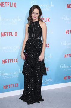 Alexis Bledel - The 'Gilmore Girls' cast reunite for their Netflix premiere