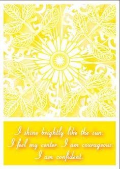 Solar Plexis Chakra Affirmation