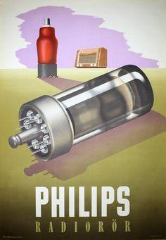 Philips Radiorör - 1946