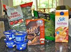 Make-Ahead Freezer SMOOTHIES - good and good for you! Doing this and they are wonderful and I HATE green food! Thanks Linny!