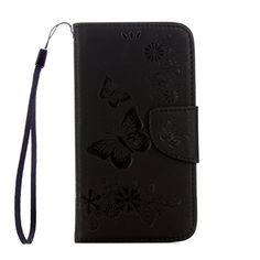 Yrisen Samsung Galaxy S4 Tasche Hülle Wallet Case Schutzh…