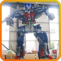 Real size robot manufacturer simulation electric transformer http://m.alibaba.com/product/60198875115/Real-size-robot-manufacturer-simulation-electric.html