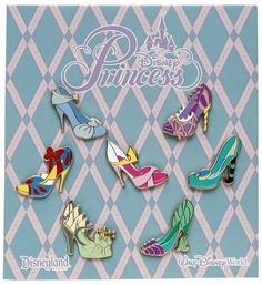 Disney Princess Shoes!  Shouldn't it be illegal to put two of my favorite things together?