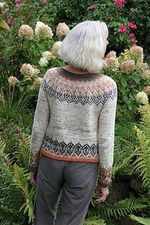 Ravelry: Tinta pattern by Heidemarie Kaiser Cowl Scarf, Knit Cowl, Fair Isle Knitting, Hand Knitting, Sweater Knitting Patterns, Sweater Design, Hand Dyed Yarn, Knit Or Crochet, Knitwear
