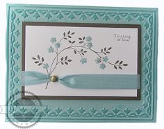 Thoughts and Prayers - Stampin' Up! Love to Make Cards: February 2011