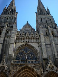 Bayeux Cathedral.. France  Read all about it!