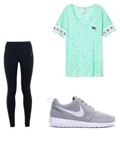 """""""Untitled #89"""" by amysonmaijah on Polyvore featuring Victoria's Secret and NIKE"""