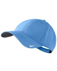 Valor-Blue-Nike-Unisex-Golf-Tech-Blank-Cap-NK226-Lightweight Clothing Deals, Men's Clothing, Visor Hats, Visors, Blue Nike, Nike Golf, Baseball Hats, Tech