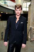 LONDON, ENGLAND - JUNE 12:  Adam Lambert attends One For The Boys Fashion Ball...