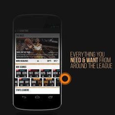 NBA MyGametime App Redesign on Behance