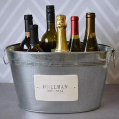Are you looking to give the bride and groom something that isn't already on their registry? Check out these 28 bridal shower gifts that are totally one-of-a-kind! #bridalshowergifts #uniquebridalshowergifts #bridalshowergiftideas #ModernMOH Personalized Bridal Shower Gifts, Unique Bridal Shower Gifts, Bubbly Bar, Mimosa Bar, Fathers Day Brunch, Wooden Wine Boxes, Wedding Vases, Wedding Keepsakes, Bar Signs