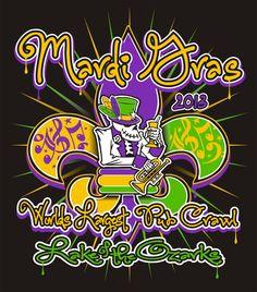 Lake of the Ozarks Mardi Gras Pub Crawl is ready to roll: February 16th, 2013.
