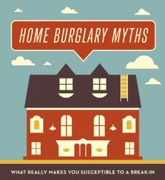 Home #Burglary Myths: What Really Makes You Susceptible to a Break-In? #security #homesafety