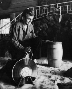 James Dean Relationships | James Dean did record an album featuring himself on drums which ...