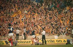 Kenny Dalglish scores for Scotland at Wembley. (1977)