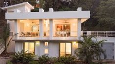 Modern, Spacious Jungle beach Villa just a short walk to the surf and Yoga! Under Kitchen Sinks, Nice Meeting You, Porch Ceiling, Desert Homes, Beach Villa, Indoor Outdoor Living, Modern Exterior, Private Pool, Swimming Pools