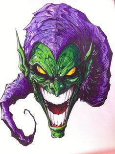 That face... The Green Goblin