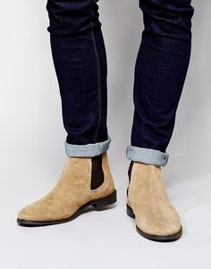 81, Beige Suede Chelsea Boots  Asos Brand Chelsea Boots In Suede. Sold by e58b38a650