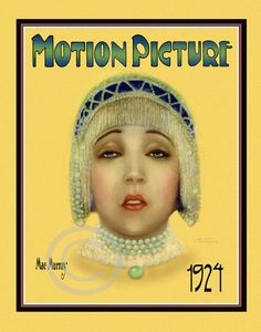 Beautiful Art Deco Classic Icon May Murray by DragonflyMeadowsArt