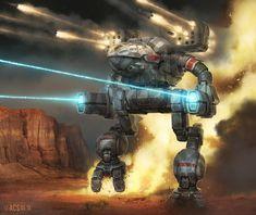 Battletech - Mad Cat by Shimmering-Sword.deviantart.com on @DeviantArt
