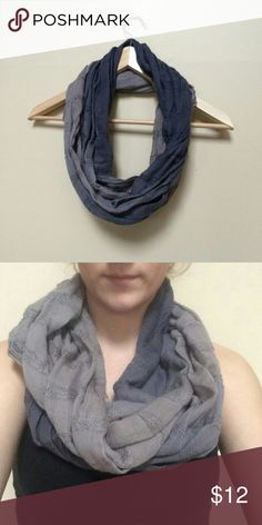 Gray and Beige Ombre Infinity Scarf Lightweight gray and beige ombre/tiedye infinity scarf Excellent used condition, only worn once  Accepting most reasonable offers! Please comment with any questions Accessories Scarves & Wraps