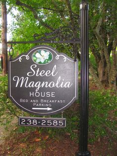 Steel Magnolia Bed and Breakfast in Natchitoches, LA #travel #south