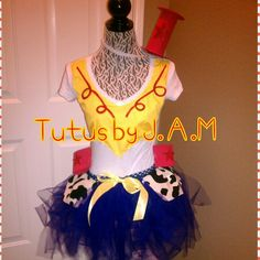 I could use a white leotard, make a blue and mixed tutu. Jesse Toy Story Costume, Toy Story Costumes, Tutu Costumes, Halloween Party Costumes, Disney Costumes, Disney Halloween, Cool Costumes, Adult Costumes, Disney Cosplay