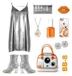 """""""BB-8 Style"""" by rev2fashion ❤ liked on Polyvore featuring River Island, Casetify, Lime Crime, Essie and Boohoo"""
