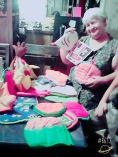 Decoración en lencería para cocina diseños de mamita:)