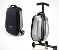 samsonite scooter suitcase