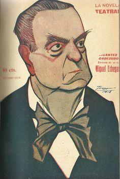 Gigantes y cabezudos. Zarzuela cómica en un acto y tres cuadros. En verso. Miguel Echegaray (1848-1927). Madrid : La Novela Corta. 1918. http://bvirtual.bibliotecas.csic.es/csic:csicalephbib000554246