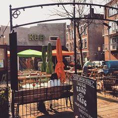 Lente op het terras van K&B! #kralingen #knbkralingen #rotterdam