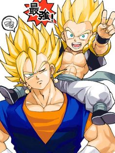Vegetto and Gotenks